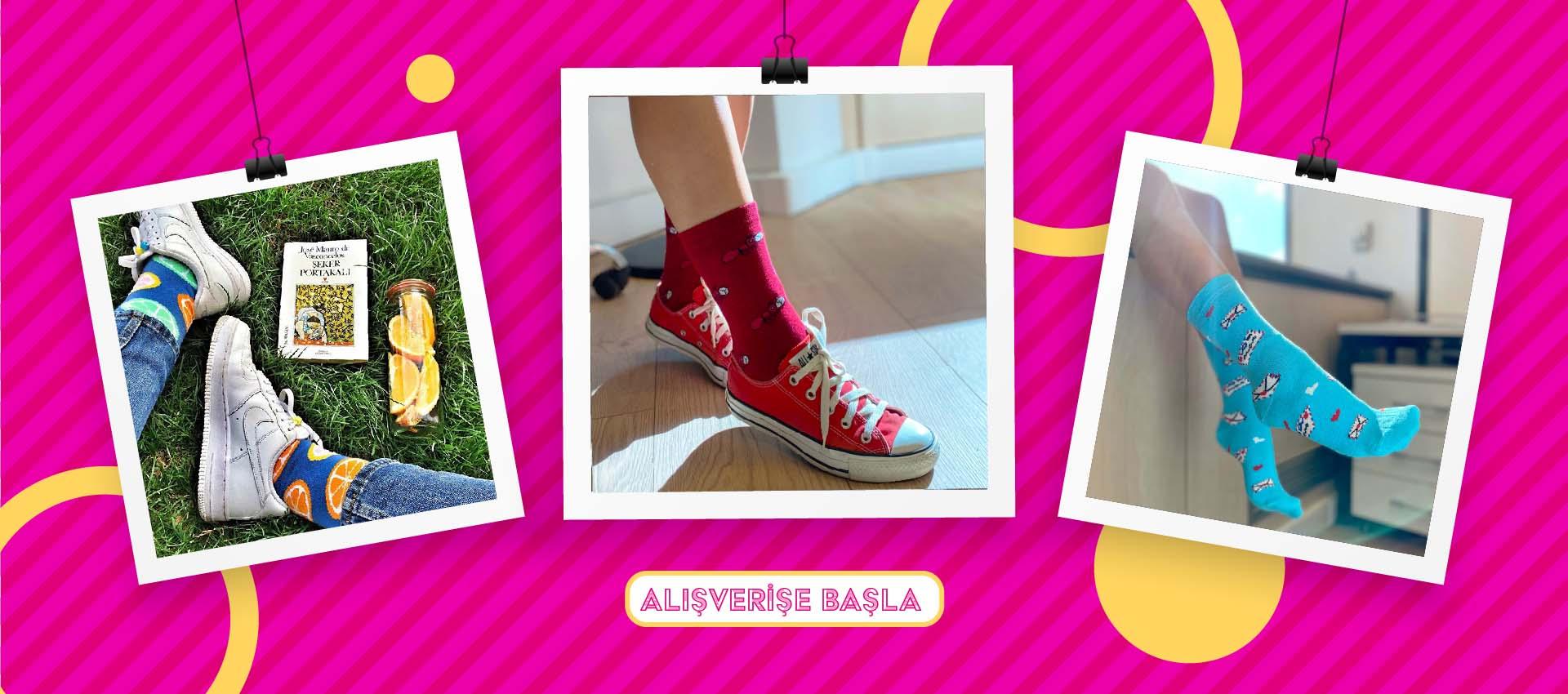 The Socks Company İndirimli Paket Çorap Setleri